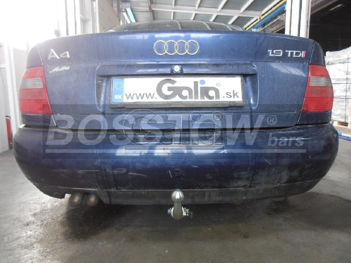 Anhängerkupplung für Audi-A4 Limousine - 1999-2001 nicht Quattro, nicht S4 Ausf.:  horizontal