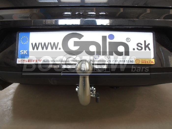 Anhängerkupplung Audi-A4 Limousine Quattro, Baujahr 2000-2004