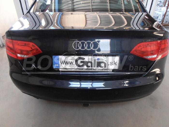 Anhängerkupplung für Audi-A4 Limousine - 2007-2011 nicht Quattro, nicht S4 Ausf.:  horizontal