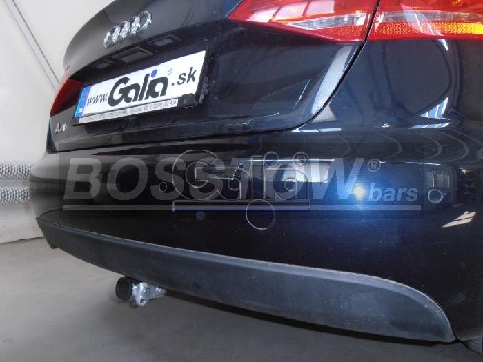 Anhängerkupplung Audi-A4 Limousine Quattro, Baujahr 2012-2015