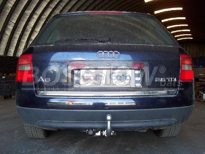 Anhängerkupplung für Audi-A6 Avant - 1998-2004 4B, C5, nicht Quattro, nicht Allroad Ausf.:  horizontal