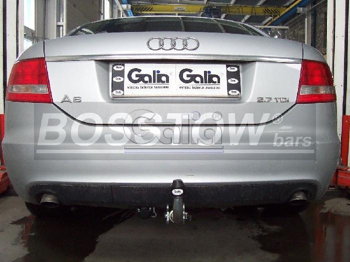 Anhängerkupplung für Audi-A6 Limousine - 2009-2011 4F, C6, nicht Quattro Ausf.:  horizontal