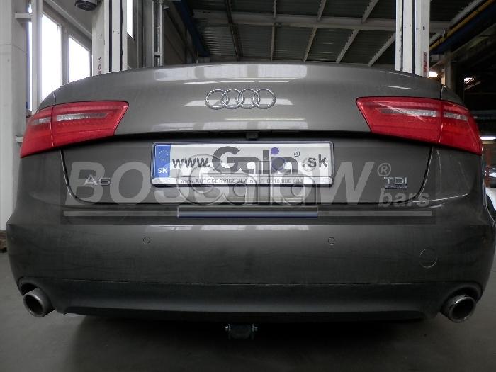 Anhängerkupplung für Audi-A6 Limousine 4GD/4G, C7, Quattro, Baujahr 2014-2018