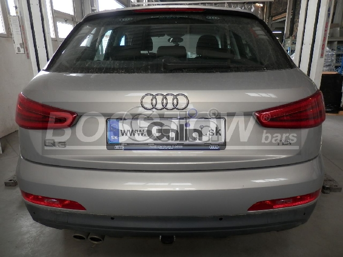 Anhängerkupplung für Audi-Q3 - 2011-2018 Ausf.:  horizontal
