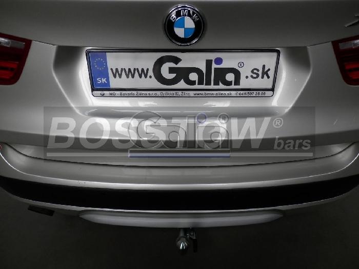 Anhängerkupplung für BMW-X3 - 2014- F25 Geländekombi Ausf.:  horizontal