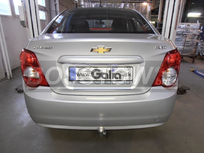 Anhängerkupplung für Chevrolet-Aveo - 2011- Limousine Ausf.:  horizontal