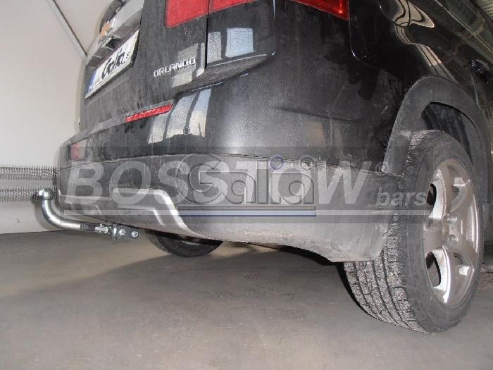 Anhängerkupplung für Chevrolet-Orlando - 2011- Ausf.:  horizontal