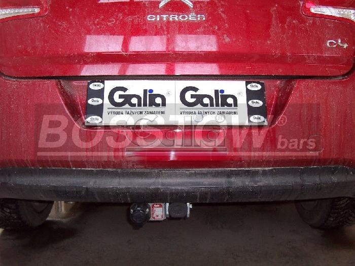 Anhängerkupplung für Citroen-C4 - 2004-2007 Coupe, nicht VTS 180 Ausf.:  horizontal