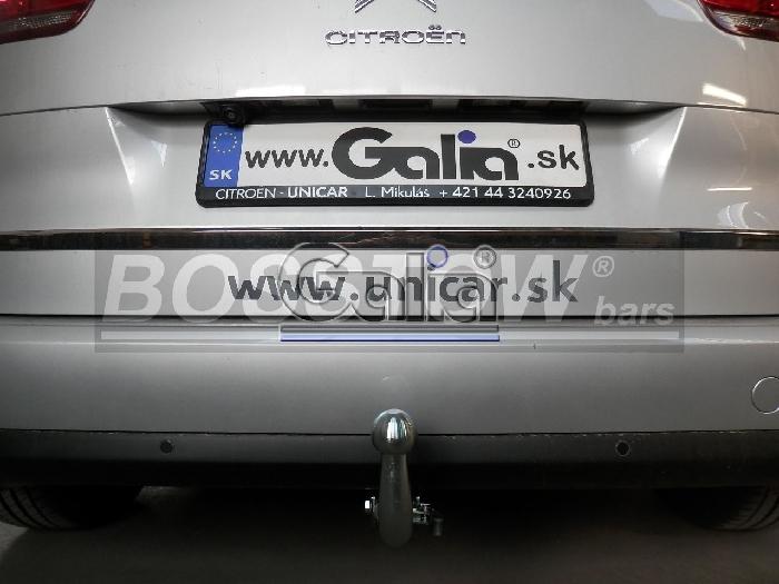 Anhängerkupplung für Citroen-C4 - 2013-2018 Picasso u. Gran Picasso Ausf.:  horizontal