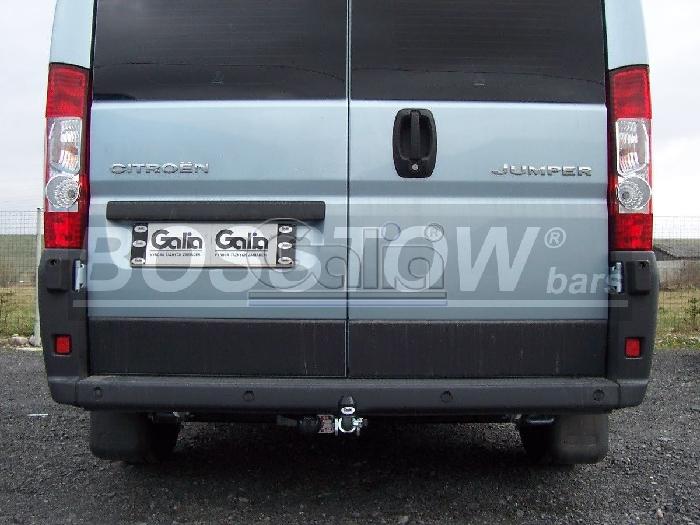 Anhängerkupplung für Citroen-Jumper - 2011-2014 Kasten, Bus, alle Radstände L1, L2, L3, L4, XL Ausf.:  horizontal