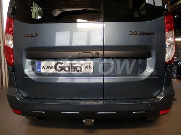 Anhängerkupplung Dacia-Dokker Stepway, spez. LPG Gasfahrzeuge, Baujahr 2012-2017