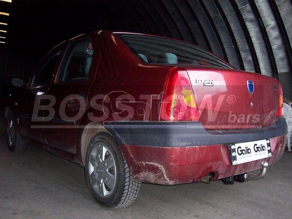 Anhängerkupplung Dacia-Logan Limousine, Baujahr 2008-2012
