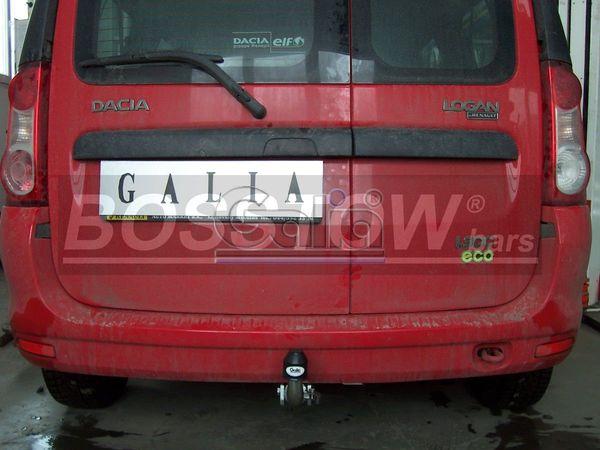 Anhängerkupplung Dacia-Logan Kombi MCV, spez. Fzg. mit Gasanlage, Baujahr 2007-2012