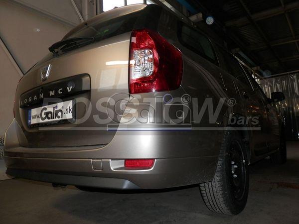 Anhängerkupplung für Dacia-Logan Kombi MCV, spez. Fzg. mit Gasanlage, Baujahr 2013-