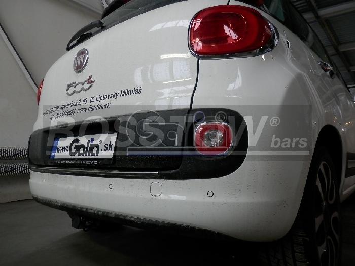 Anhängerkupplung Fiat-500 L Trekking, Baujahr 2012-2014