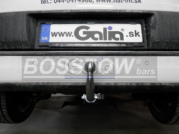 Anhängerkupplung Fiat-500 L Living, Baujahr 2012-2017 Ausf.:  horizontal