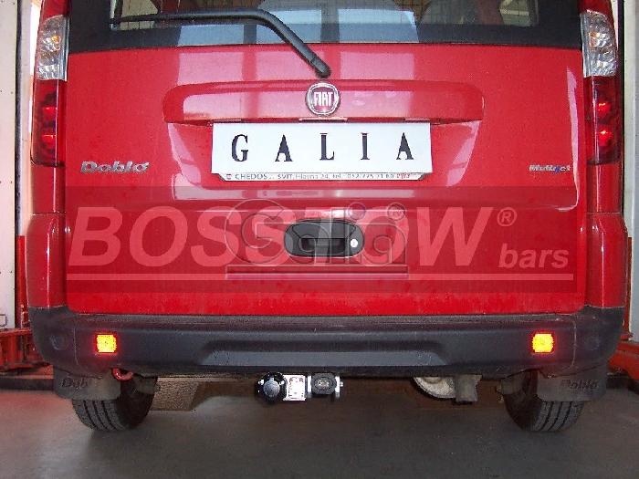 Anhängerkupplung Fiat Doblo I (223), Baureihe 2000-2005  horizontal