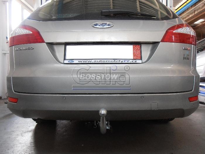 Anhängerkupplung Ford Mondeo Turnier, mit Niveauregulierung, nicht, 4x4, nicht RS,ST, nicht Titanium, Baureihe 2007-2015  horizontal
