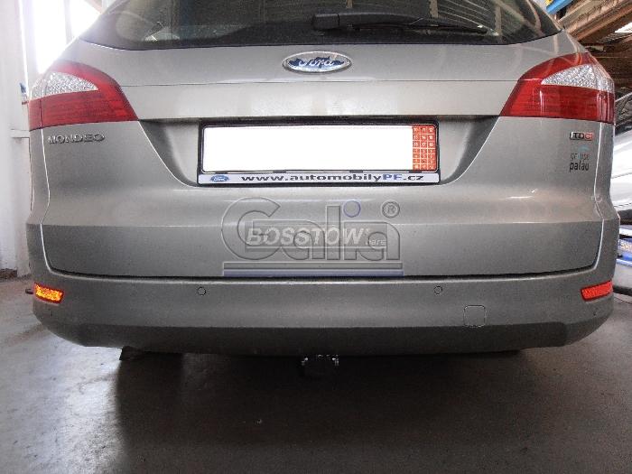 Anhängerkupplung für Ford-Mondeo - 2007-2015 Turnier, ohne Niveauregulierung, nicht, 4x4, nicht RS,ST, nicht Titanium, mit Elektrosatzvorbereitung Ausf.:  horizontal