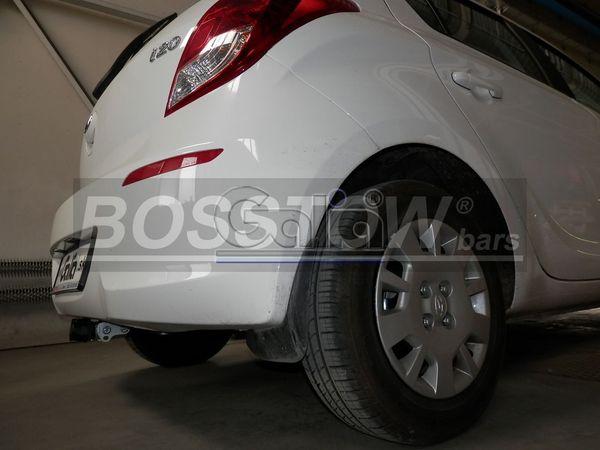 Anhängerkupplung für Hyundai-I20 - 2012-2014 Fließheck Ausf.:  horizontal
