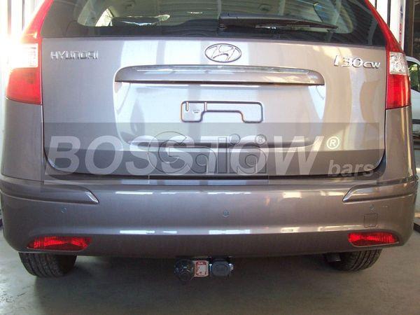 Anhängerkupplung für Hyundai-I30 - 2008-2010 Kombi Ausf.:  horizontal