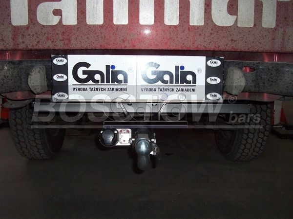 Anhängerkupplung für Mahindra-Goa - 2006- Pick Up Ausf.:  horizontal
