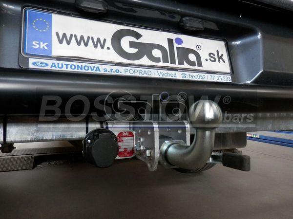 Anhängerkupplung Mazda-BT- 50 4WD m. Rohrstoßfänger, Baujahr 2012-