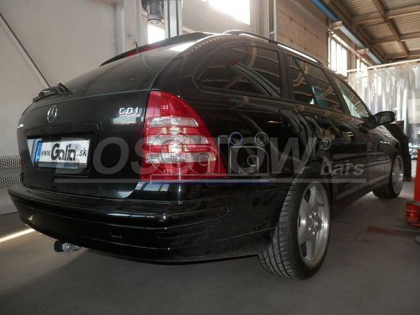 Anhängerkupplung für Mercedes-C-Klasse - 2000-2005 Lim. W203 Ausf.:  horizontal