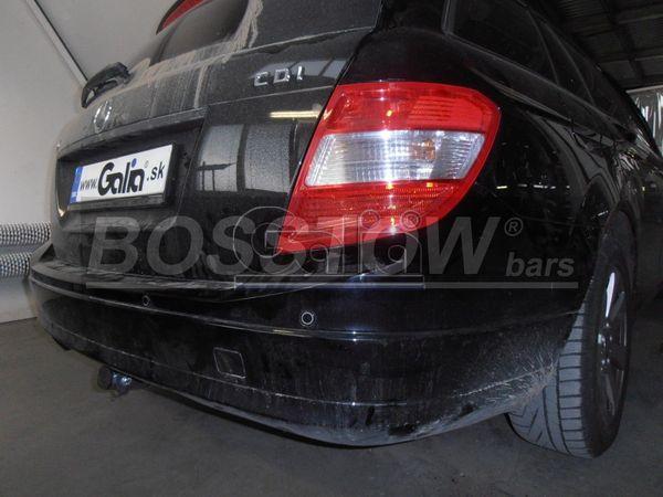 Anhängerkupplung für Mercedes-C-Klasse - 2007-2011 Kombi W204 Ausf.:  horizontal