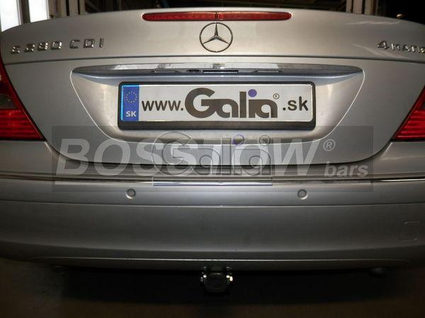 Anhängerkupplung für Mercedes-E-Klasse - 2002- Limousine W 211 Ausf.:  horizontal