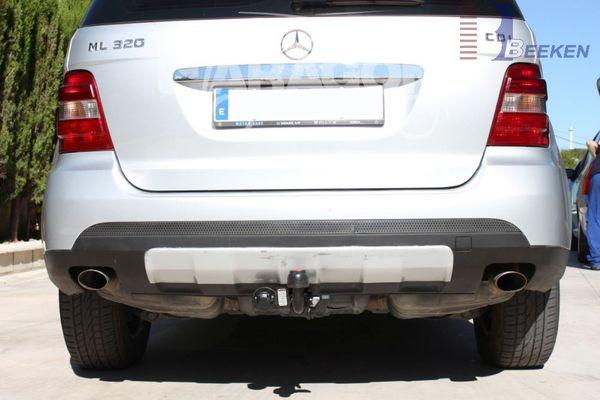 Anhängerkupplung Mercedes-GL X164, Baujahr 2006-2012 Ausf.:  horizontal