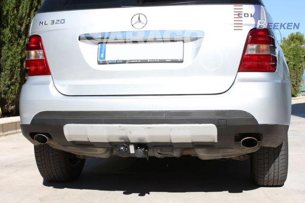 Anhängerkupplung Mercedes-M-Klasse W164, Baujahr 2005-2010