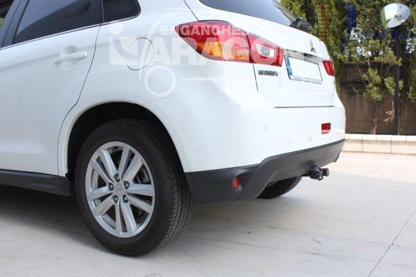 Anhängerkupplung Mitsubishi-ASX - 2010-2011,