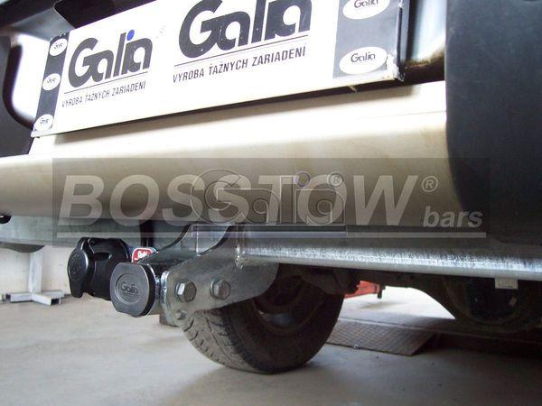 Anhängerkupplung für Mitsubishi-L200 - 2006-2009 2WD, Fzg. mit Stossstange Ausf.:  horizontal