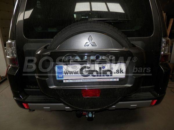Anhängerkupplung für Mitsubishi-Pajero V60 (langer Radstand) - 2000-2002