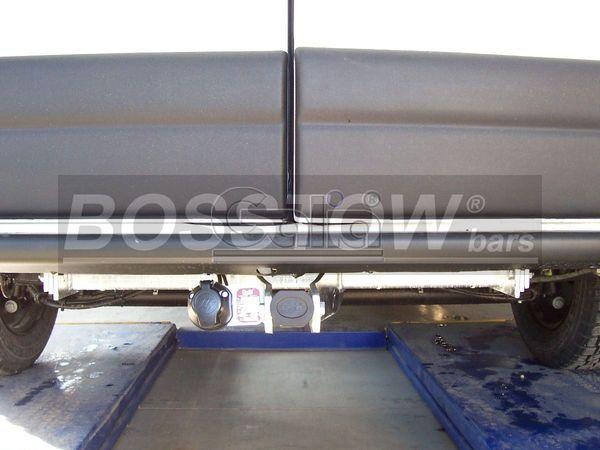 Anhängerkupplung Nissan Interstar Kasten, Bus, Kombi, nicht 5,5 t., Baureihe 2002-2004  horizontal