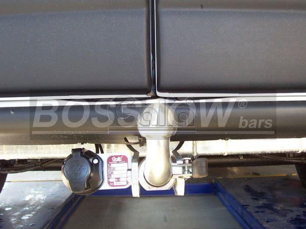 Anhängerkupplung Nissan Interstar Kasten, Bus, Kombi, nicht 5,5 t., Baureihe 2004-2006  horizontal