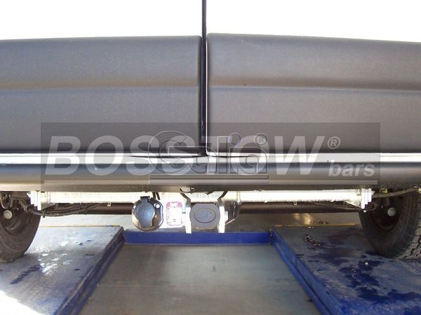 Anhängerkupplung für Nissan-Interstar - 2006- Kasten, Bus, Kombi, nicht 5,5 t. Ausf.:  horizontal