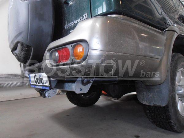 Anhängerkupplung für Nissan-Terrano - 2000-2003 II Ausf.:  horizontal