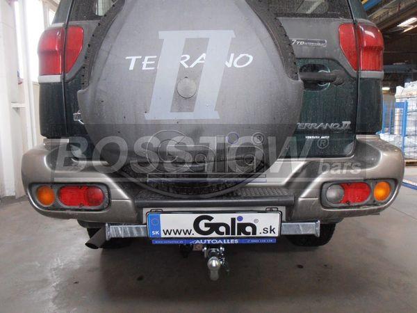 Anhängerkupplung Nissan-Terrano II, Baureihe 1993-1996 Ausf.:  horizontal
