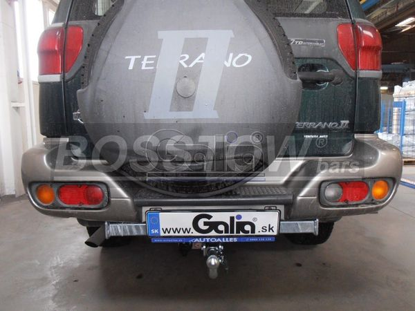Anhängerkupplung für Nissan-Terrano - 1996-2000 II Ausf.:  horizontal