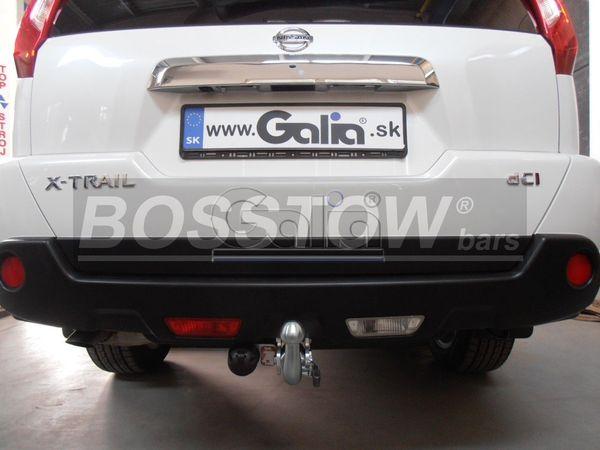 Anhängerkupplung für Nissan-X-Trail - 2007-2014 Ausf.:  horizontal