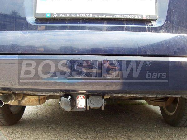 Anhängerkupplung für Opel-Astra - 2000-2004 G, Kombi, nicht CNG Ausf.:  horizontal