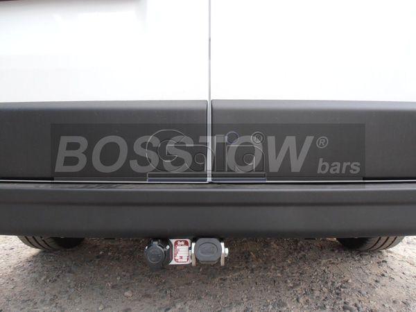 Anhängerkupplung Opel Movano Kasten, Bus, Kombi, Frontantrieb, Fzg. mit Elektrosatz Vorbereitung, Baureihe 2010-2014  horizontal