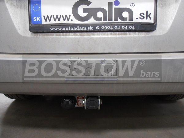 Anhängerkupplung für Opel-Zafira - 2005-2015 B, Van, Fzg. mit REC Ausf.:  horizontal