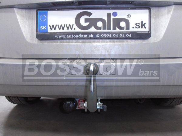 Anhängerkupplung für Opel-Zafira - 2005-2015 B, Van, Fzg. ohne REC Ausf.:  horizontal
