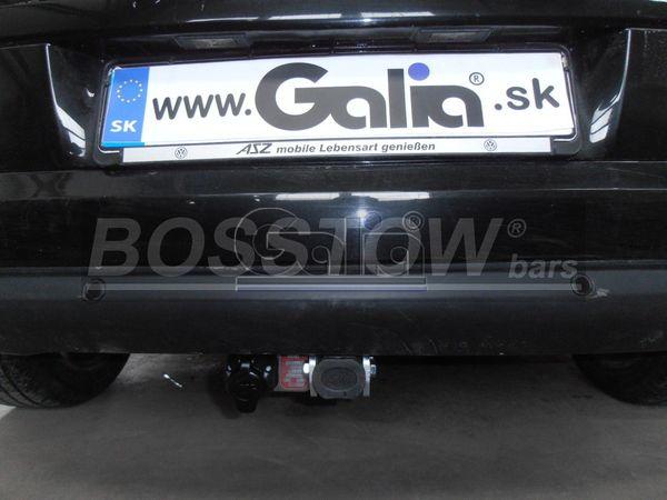 Anhängerkupplung Peugeot 308 Fließheck, nicht für Gti, 200 PS, Premium, nicht Fzg. mit Sportstoßfänger, Baureihe 2008-2013  horizontal