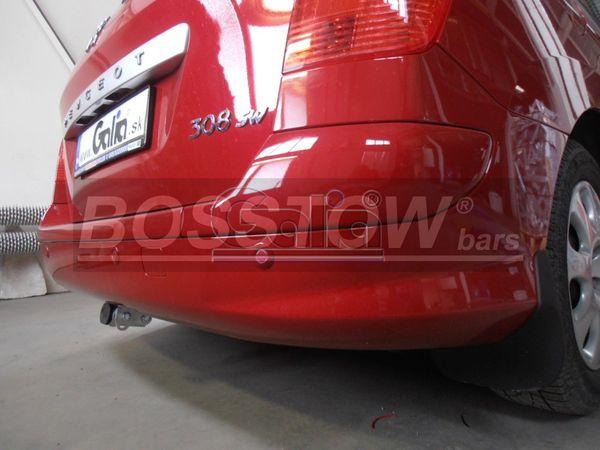 Anhängerkupplung für Peugeot-308 - 2008-2014 SW- Kombi Ausf.:  horizontal