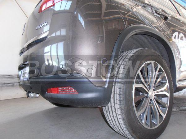 Anhängerkupplung für Peugeot-4008 - 2012- Ausf.:  horizontal