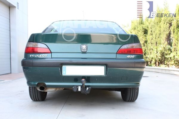 Anhängerkupplung Peugeot-406 Coupé, Baujahr 1997-1999